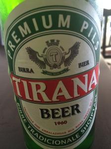 Albanian beer
