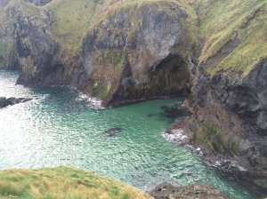 Rope bridge view