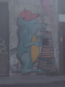 Ransom graffiti