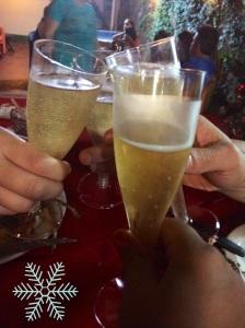 Christmas Eve toast