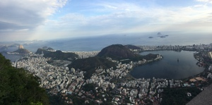View of Rio from the statue